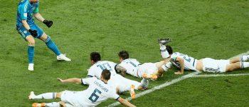 روسیه با از بین بردن اسپانیا به جمع ۸ تیم برتر دنیا راه یافت